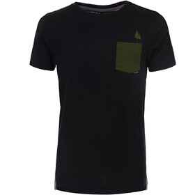 Pally'Hi Pocket Tree T-shirt Heren, bluek